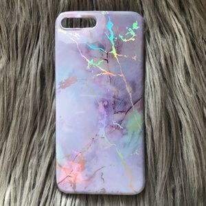 Accessories - 🆕 Iridescent Marble Soft iPhone 7/8 Plus Case